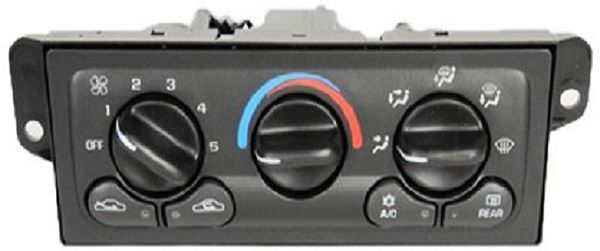 Heating And Air Conditioning Control Panel Symptoms And