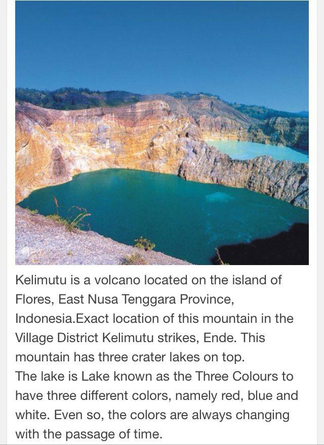 Kelimutu Lake-NTT Indonesia.
