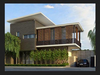 Contoh Gambar Desain Interior Rumah Kontemporer Modern