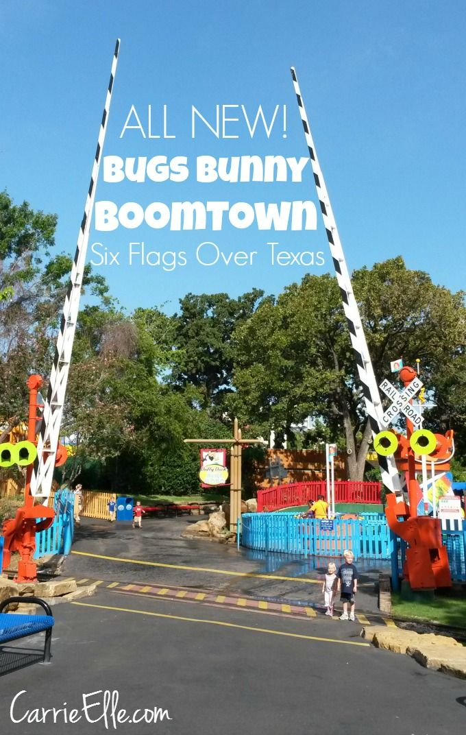 Bugs Bunny Boomtown At Six Flags Over Texas Kid