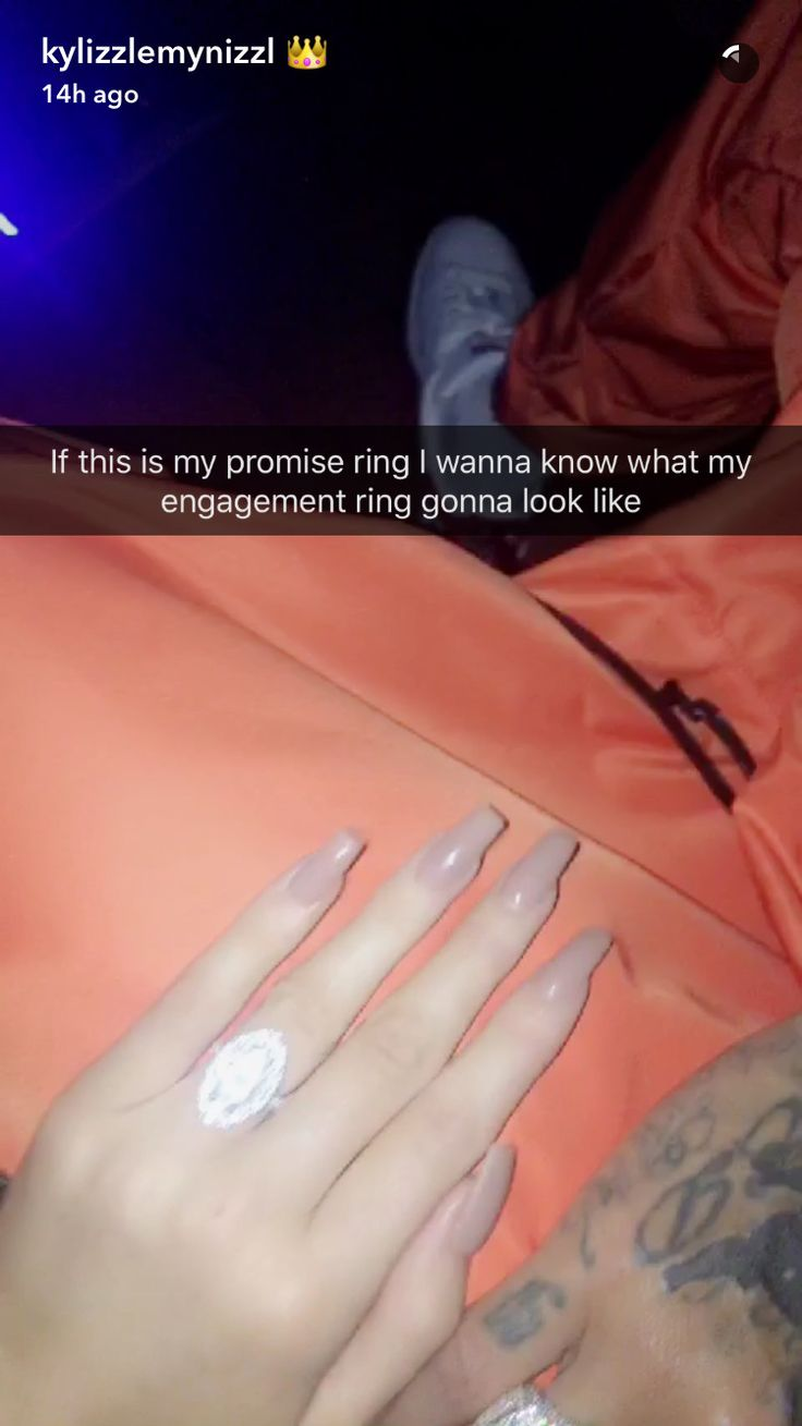 Tyga Gives Kylie Jenner A Promise Ring