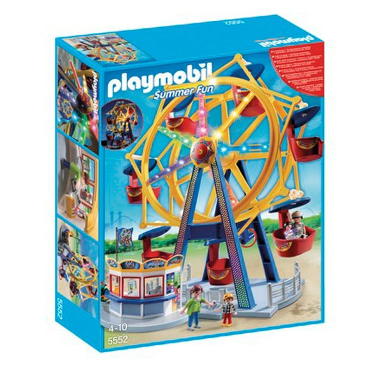 Playmobil Ρόδα Λούνα Παρκ με φώτα 5552