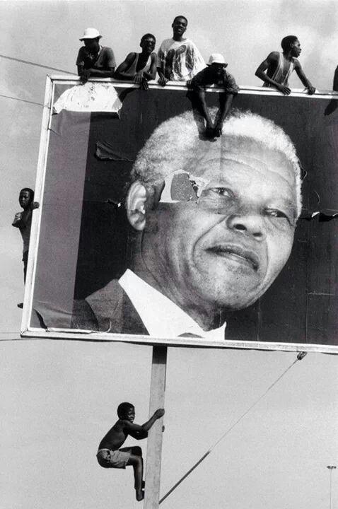 Nelson Mandela. Fantastic photo.