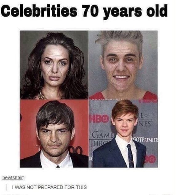 And then there's Thomas, who never ages...