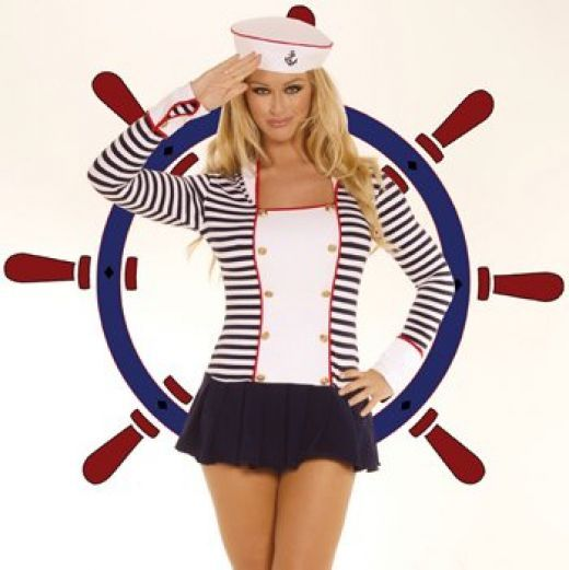 Cruise clothes and the Nautical Look - The sailor suit - Welcome aboard!