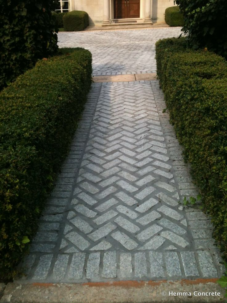 Walk This Way Hemma Installed Paver Sidewalk In A