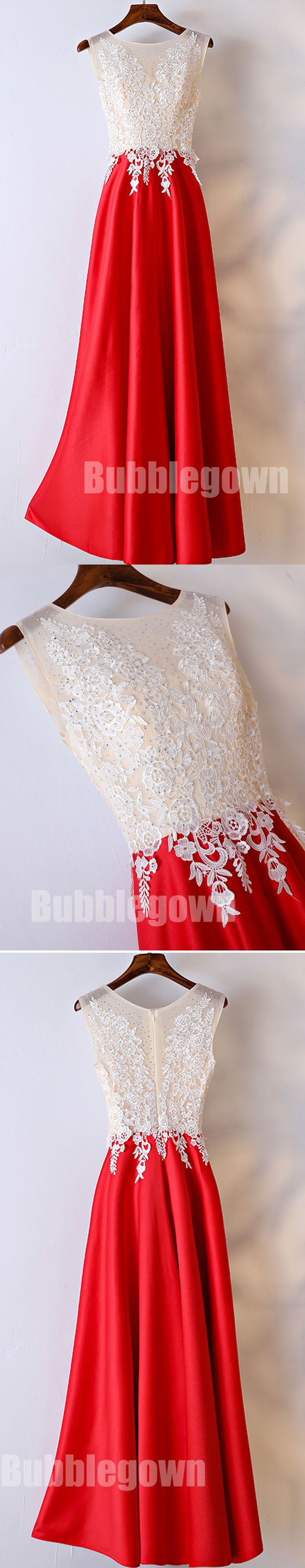 Red Formal Simple Teenager Cheap Long Prom Dresses, BGP017 #promdress
