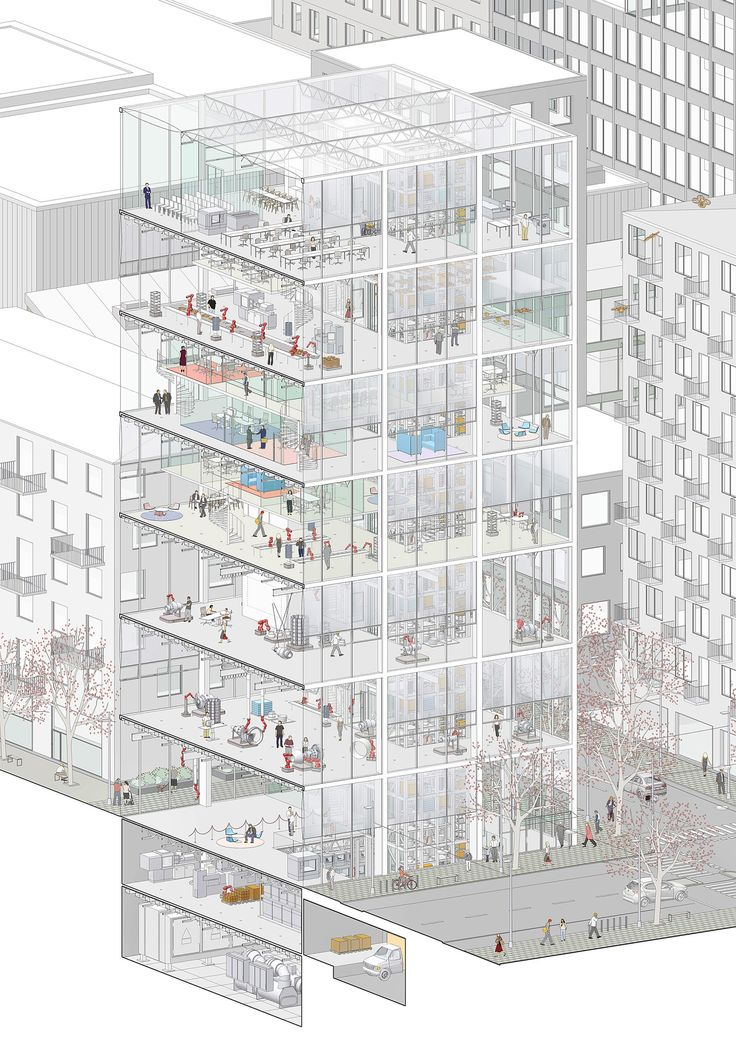 Reimagining the Form, Function and Place of the Factory Simon Nilsson Project This thesis reimagines the form, function and place of the factory. The factory of today typically is a flat, expandabl…