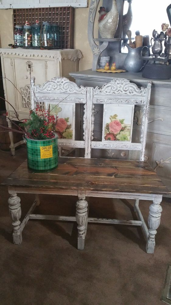 Upcycled+Chair+Benches