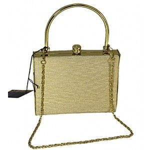 Small #Gold #Evening #Bag
