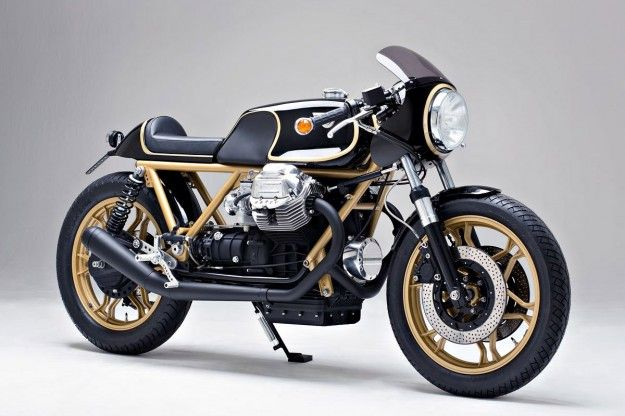 Moto Guzzi Le Mans MKIII - Kaffeemaschine - BikeExif