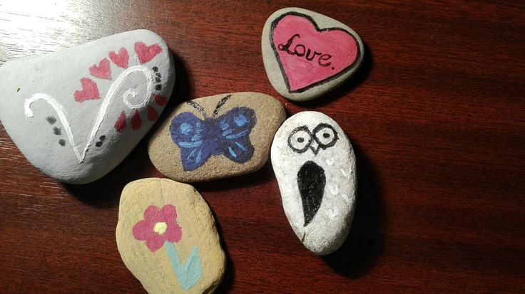 painted stones :)