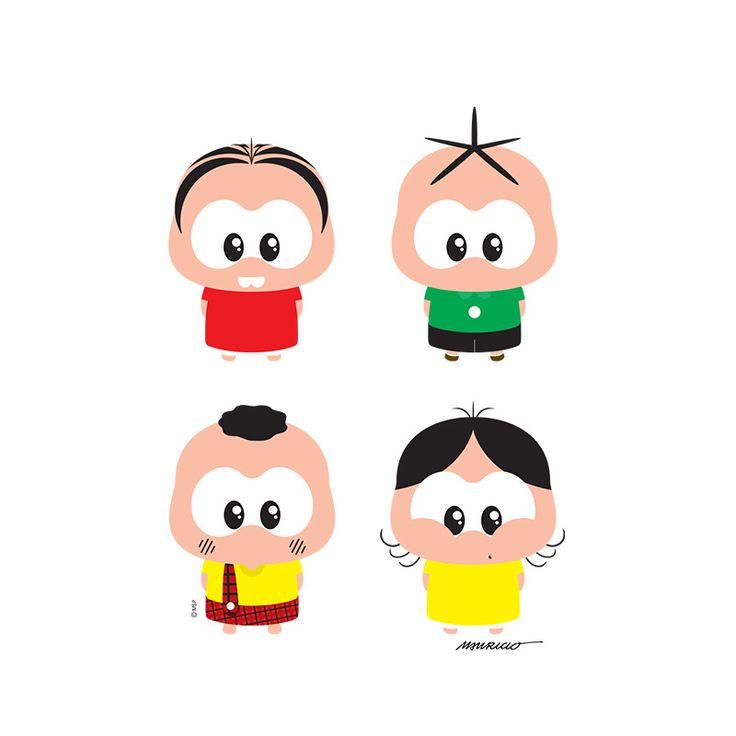 turma da monica toy - Pesquisa Google