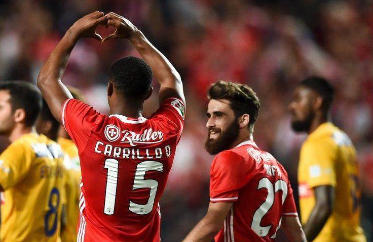 Carrillo e Rafa . SL Benfica