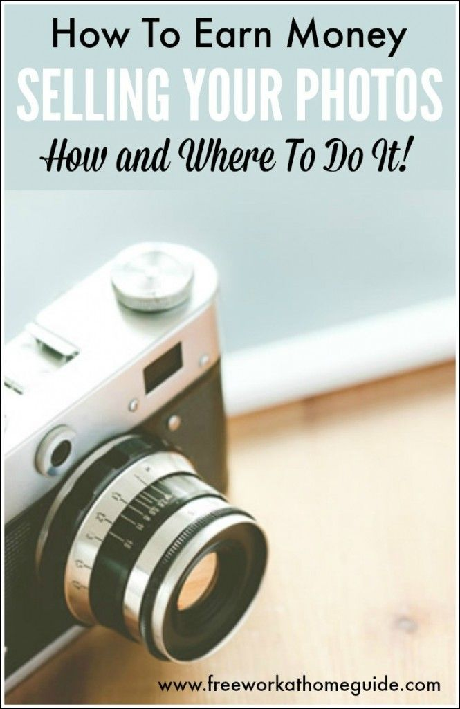 Do you love to take photos? Then you can make money online selling your photos via some microstock photography sites .