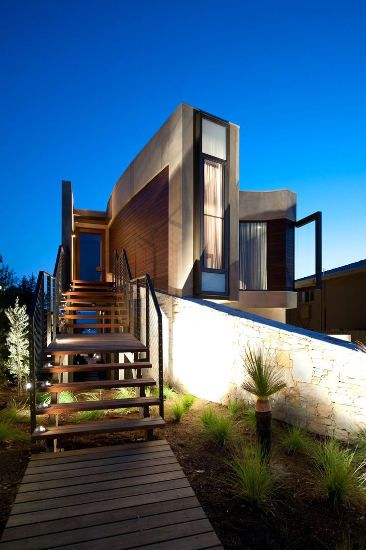 52 best home exterior ideas images on pinterest architecture rachcoff vella architects designed modern home called hill house in mount martha suburb of melbourne in australia