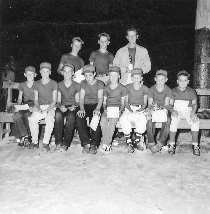 Charlevoix MI 1957 Little league City Champs