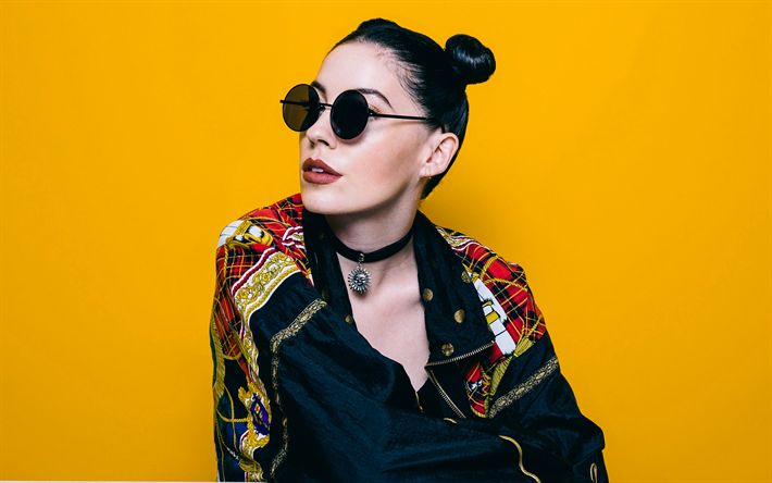 Download wallpapers Bishop Briggs, 4k, Sarah Grace McLaughlin, british musician, superstars