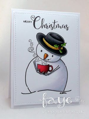 Tiddly Inks Challenge: Challenge #196...Frosty Feeling...