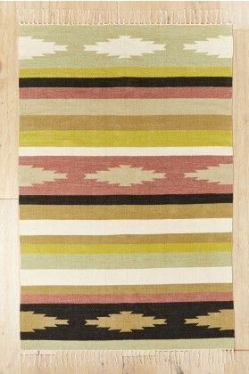 4' x 6' Warm Southwest Rug - Earthbound Trading Co.