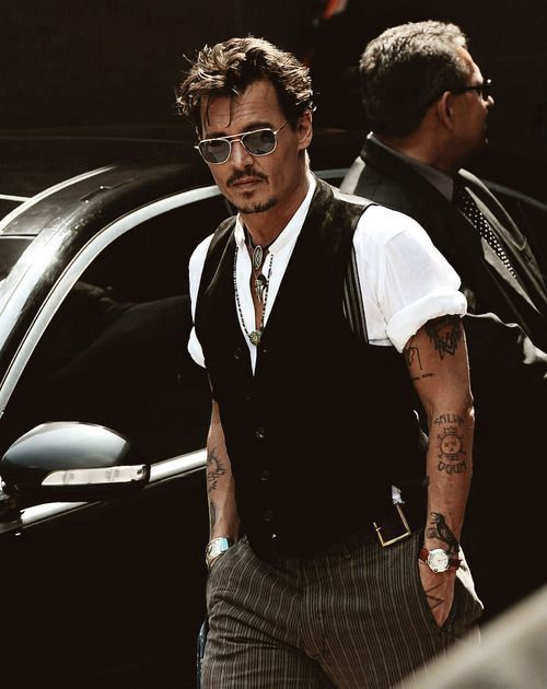Styling for Men : How to dress like Johnny Depp – Instant Attire – Medium