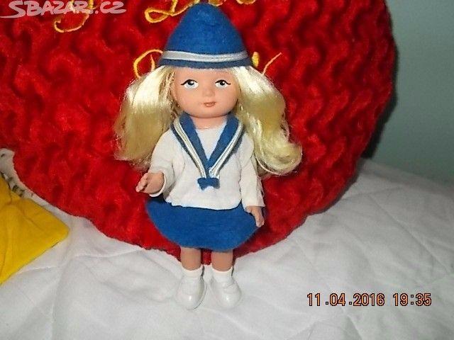 Rezervace. Nemrkací panenku 20 cm, krásné, dlouhé, - obrázek číslo 2