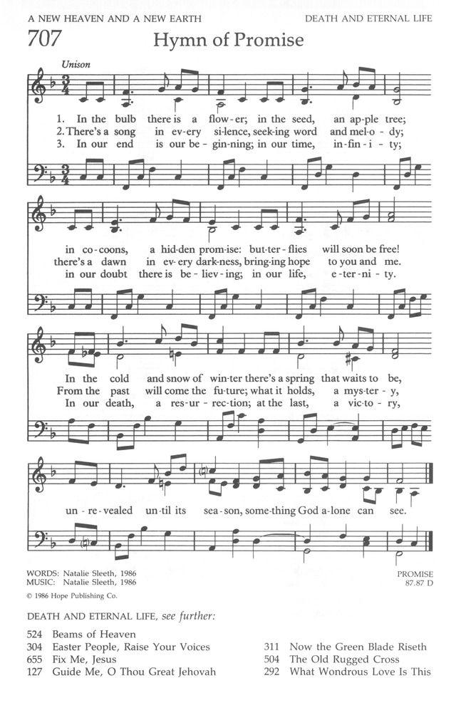 Canticle lyrics
