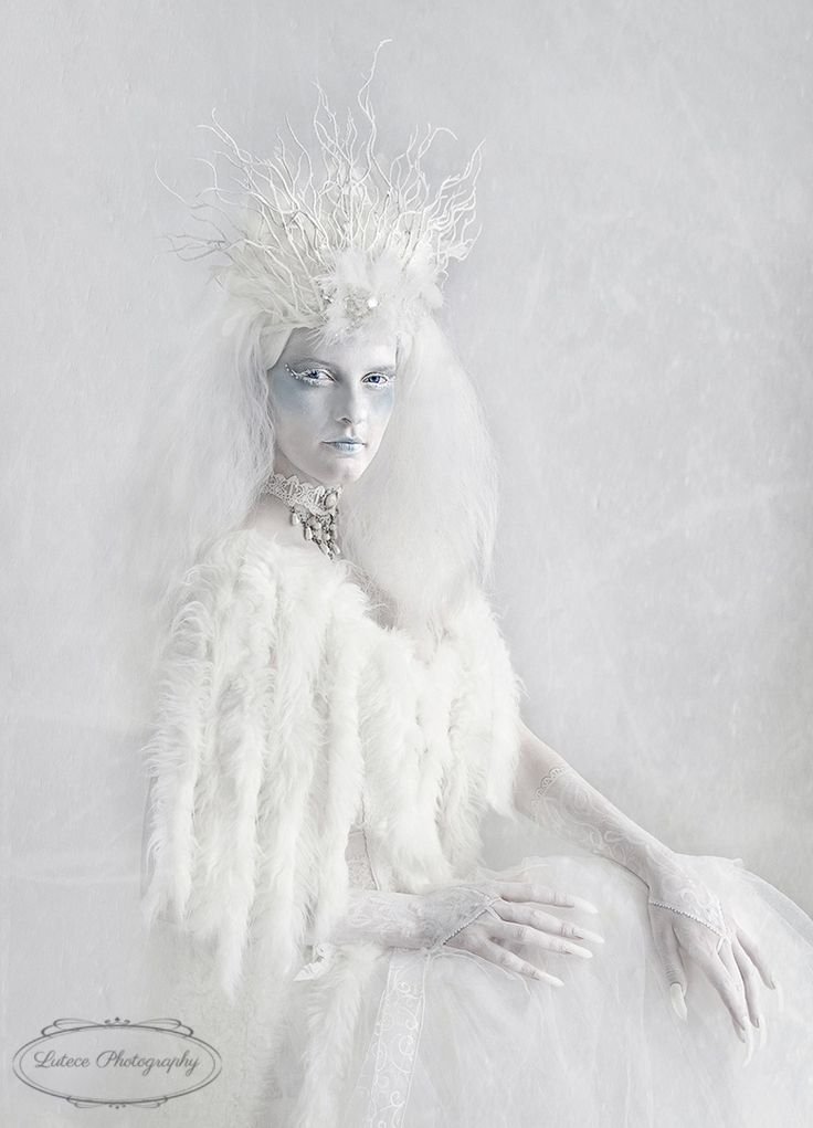 Snow queen series I photographed. This photo earned me  a solver with distinction in the NZIPP Iris awards in New Zealand  http://www.lutecephotography.co.nz/site/#/home/