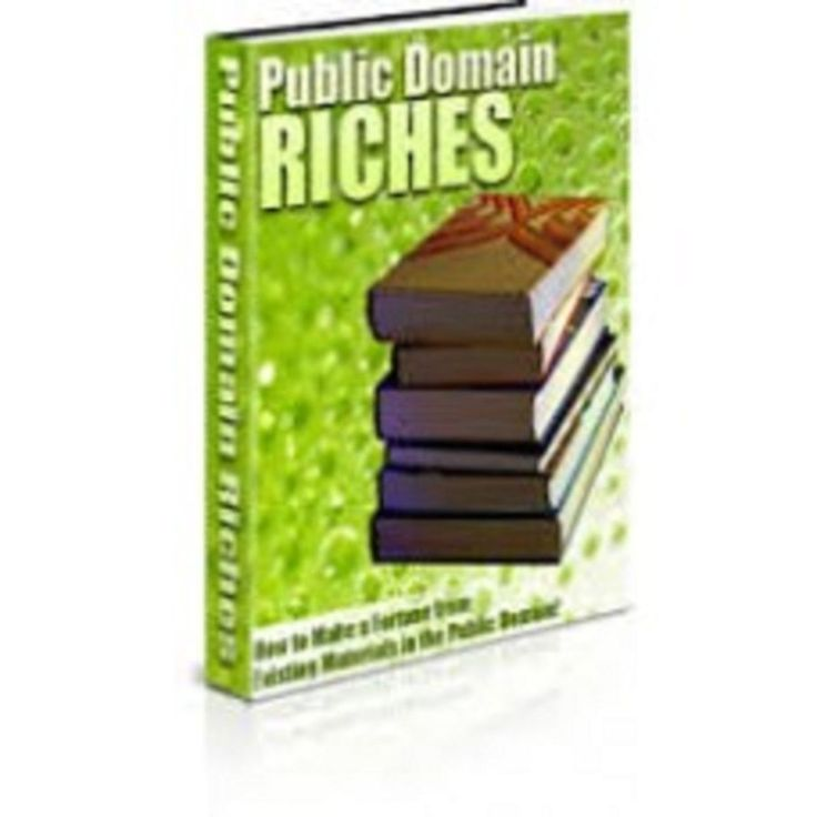 Public Domain Riches    book---CD