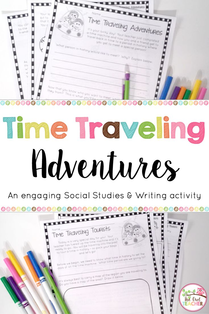 Students travel back in time and explore history while practicing ...