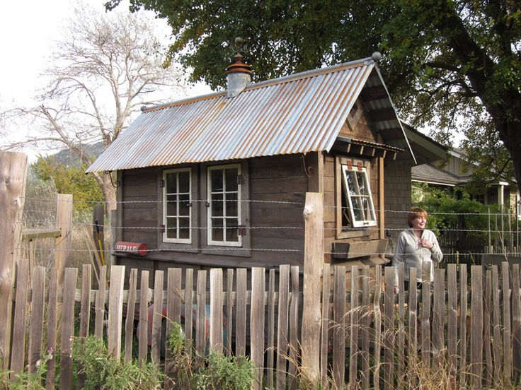 Rustic Shed | Tiny House Swoon