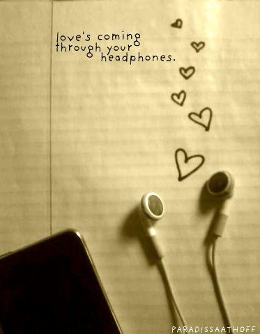 Lo,o,o,ove, it's coming through your headphones. Britt Nicole song