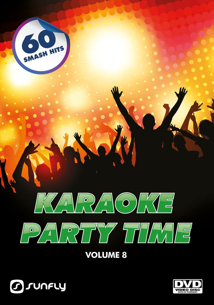 Sunfly Karaoke Party Time Collection Volume 8 on DVD