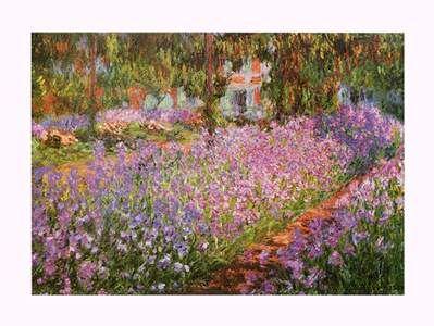 25 best ideas about obras de monet on pinterest van for Aubade jardin d iris