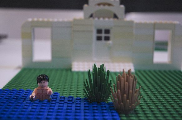 """Mr Darcy in the Lake"" - (inspired by) Pride and Prejudice by Jane Austen. 