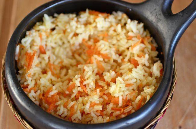 Cette recette de riz et carottes épicés est un plat facile à réaliser. Il pourra être accompagné d'une viande ou même seule cela sera aussi bien. Comme tou