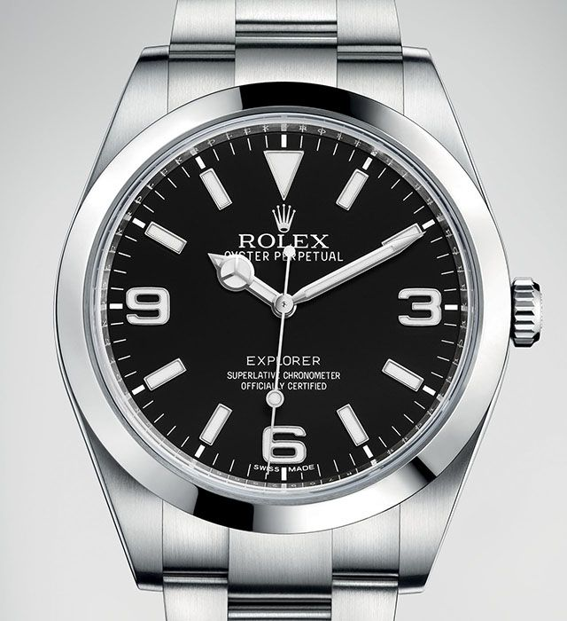 Discover the new Rolex Explorer unveiled at Baselworld 2016.