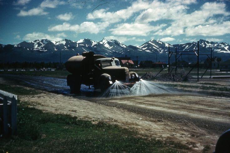 Америка 40-х в цвете • Alaska
