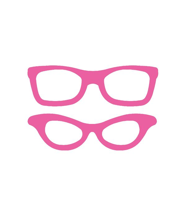 Free Photo Booth Prop Glasses SVG File | via @Printable Party Decor #svg #svgfile