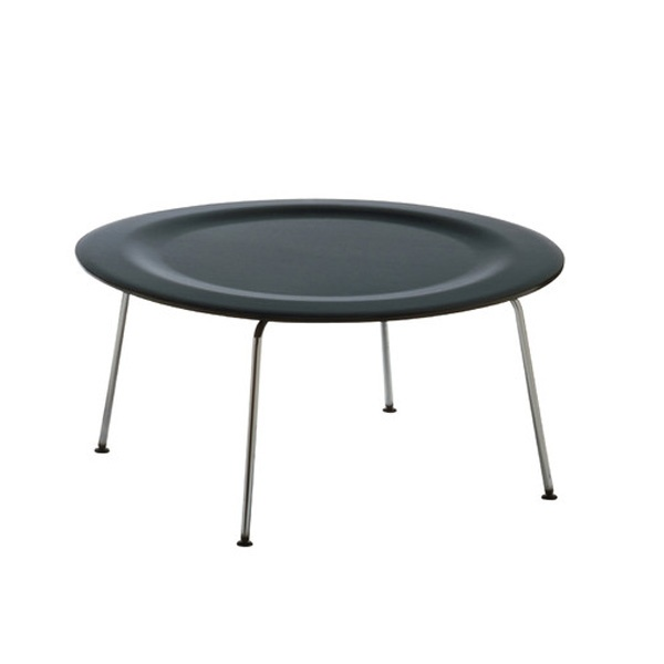 CTM LOW TABLE BY CHARLES EAMES (BLACK)