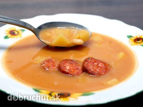 Fotorecept: Zemiakovo-fazuľová polievka z juchy