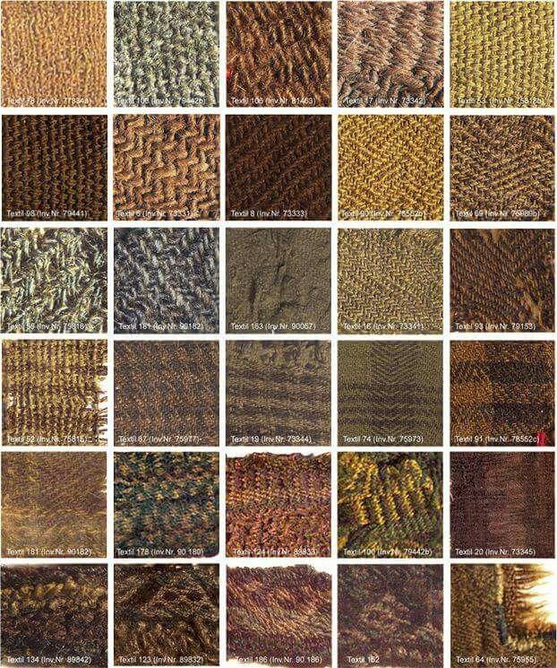 Bronze Age Cloth