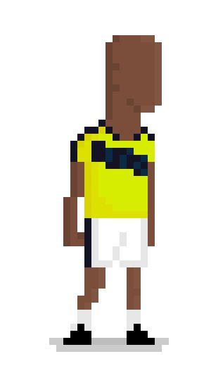 Segundo Víctor Ibarbo Guerrero No. 14 Colombia team