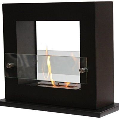 Bio Ethanol Fireplaces For Floor Standing Applications. Square Shaped Bio Ethanol  Fireplace Floor Standing Design