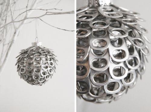 De l'aluminium pour illuminer Noël : atelier de bricolage | Maison du développement durable