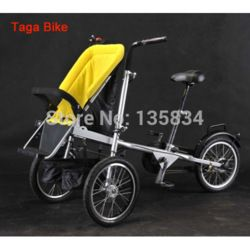 Amazing. It's a jogging stroller and a bike! Made for newborn to six years and can hold two seats. Too bad it's almost eight hundred dollars