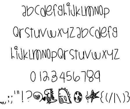 DinosaursAreAlive font by Des - FontSpace