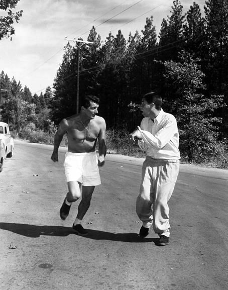 DEAN MARTIN AND JERRY LEWIS JOGGING 8X10 PHOTO JW-2 | eBay