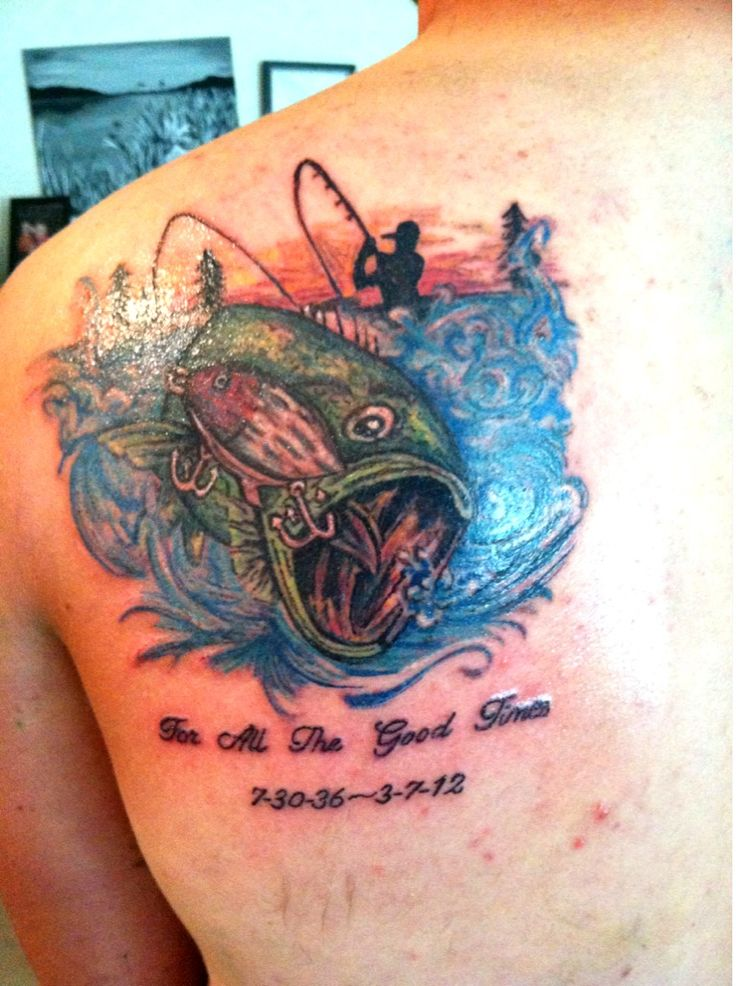 1000 images about fishing tattoos on pinterest best