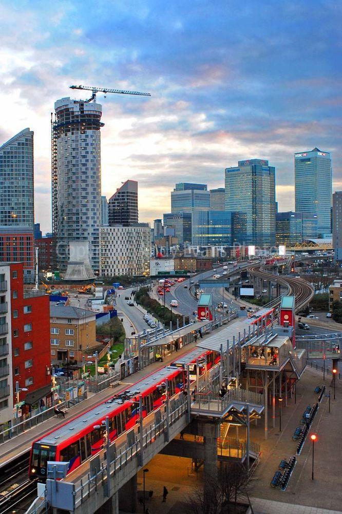 Стрельба при выселении в алматы: Canary Wharf East India DLR Station London Docklands photo